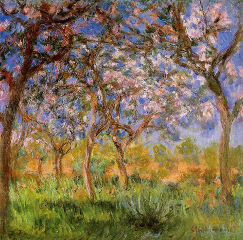 Giverny_in_Springtime__1899-1900 Claude Monet