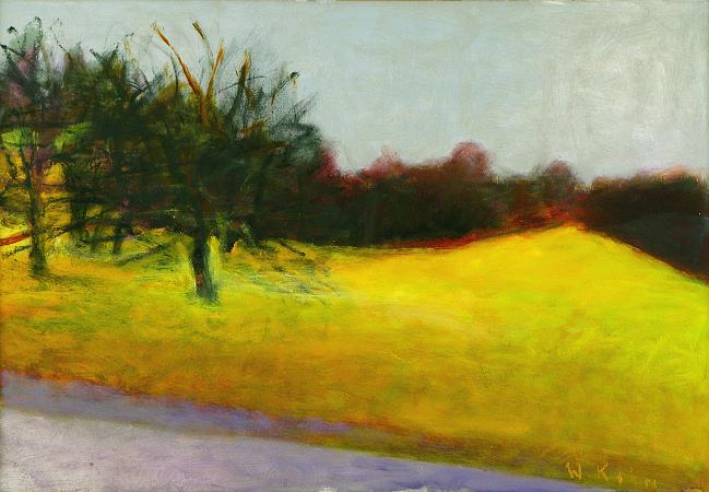 On Hewew road, 2009, Oil on Canvas, 22 X 32 kahn22632