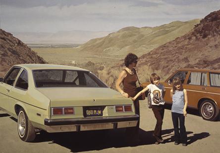 Robert Bechtle, Agua Caliente Nova, 1975