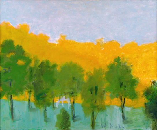 Apaloosa, 2009, Oil on Canvas, 26 X 32 Okahn22559