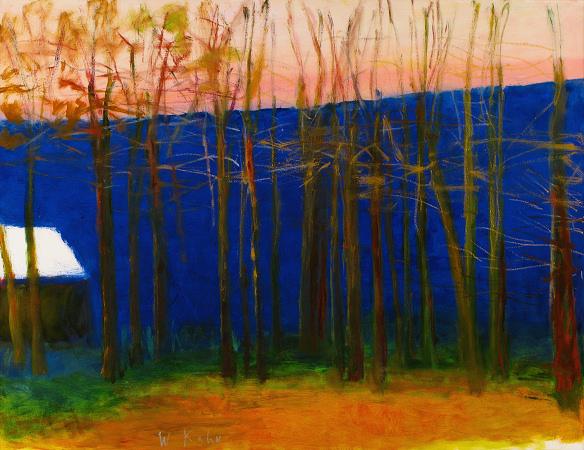 Below a Blue Rise1, 2009, Oil on Canvas, 40 X 52 kahn22611