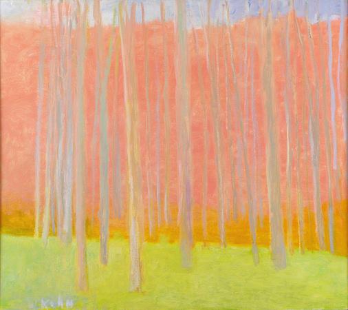 Pale Trunks, 2008, Oil on Canvas, 34 X 38 kahn22634