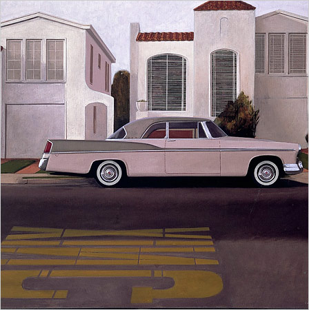 Robert-bechtle-car-house-spanish-house-art